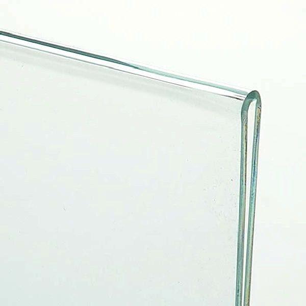 Acryl L Aufsteller DIN A4 Hochformat VPE 40 Stück 1