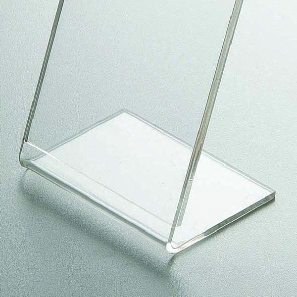 Acryl L Aufsteller DIN A4 Hochformat VPE 40 Stück 2