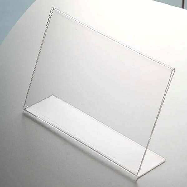 Acryl L Aufsteller DIN A5 Querformat VPE 30 Stück 2