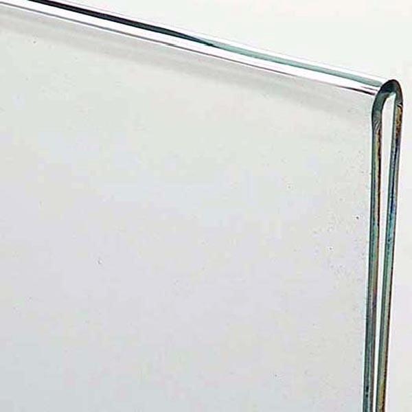 Acryl L Aufsteller DIN A6 Hochformat VPE 30 Stück 1