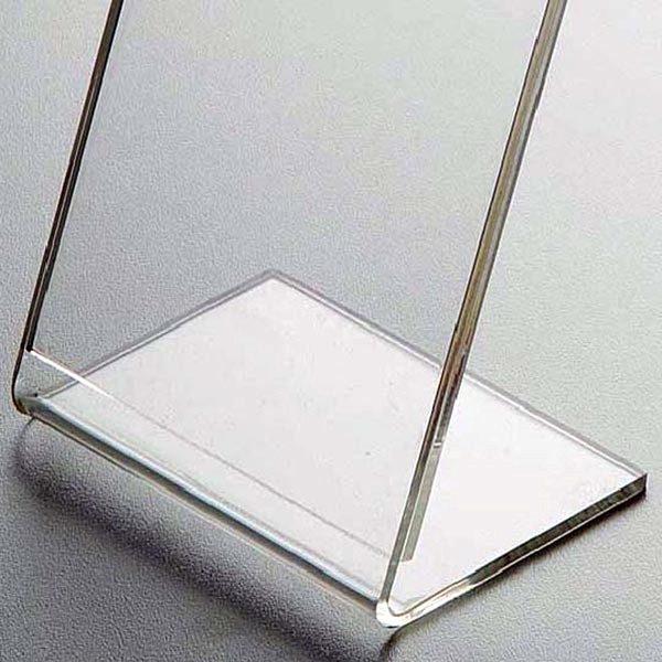 Acryl L Aufsteller DIN A6 Hochformat VPE 30 Stück 2