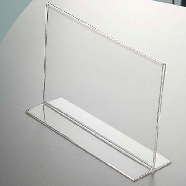 Acryl T Aufsteller DIN A5 Querformat VPE 30 Stück 2
