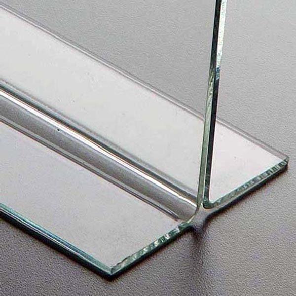 Acryl T Aufsteller DIN A6 Hochformat VPE 40 Stück 3