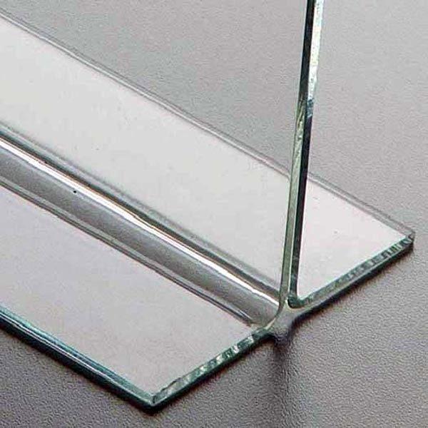 Acryl T Aufsteller DIN A6 Querformat VPE 30 Stück 3