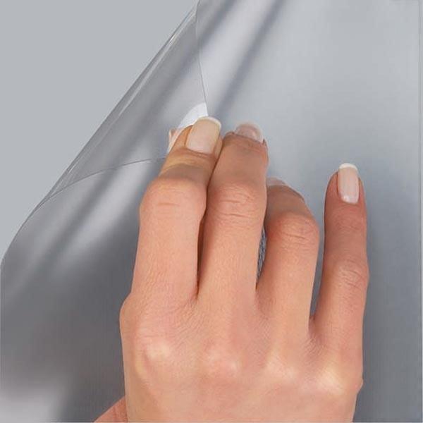 Antireflex Schutzfolie für wasserfeste Klapprahmen 25mm DIN B2 Postermaß 1