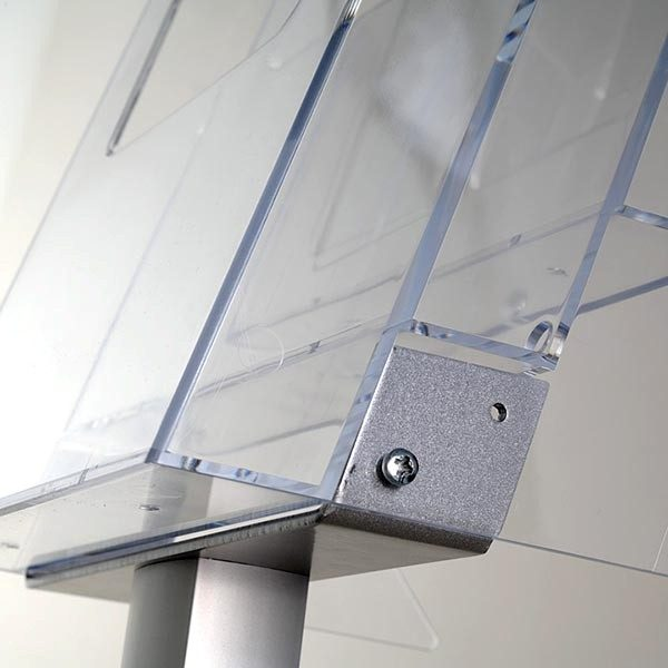 Boden Prospektständer Pillar 3 x DIN A4 3