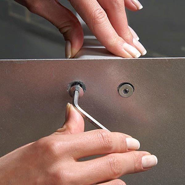 Boden Prospektständer Zick Zack 6 x DIN A4 7