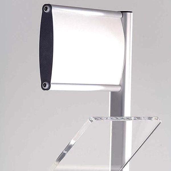 Boden Prospektständer Zick Zack mit Topschild 6 x DIN A4 2