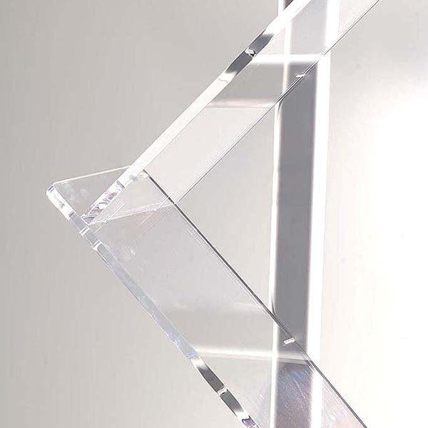Boden Prospektständer Zick Zack zweibeinig 6 x DIN A4 1