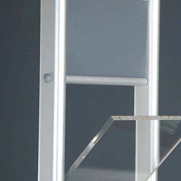Boden Prospektständer Zick Zack zweibeinig 6 x DIN A4 3