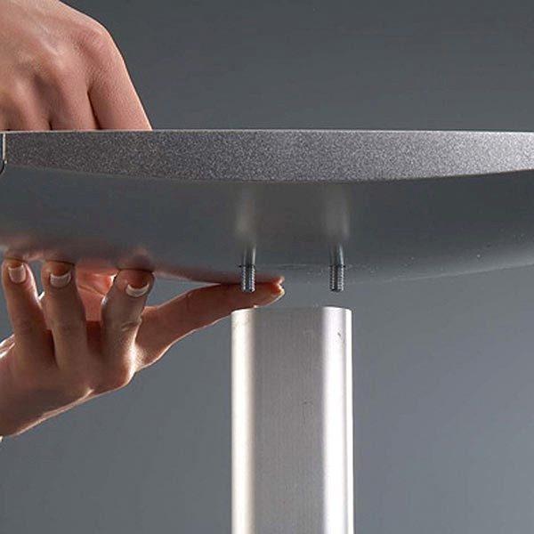 Dekorativer Prospektständer Hochformat DIN A4 Postermaß 4