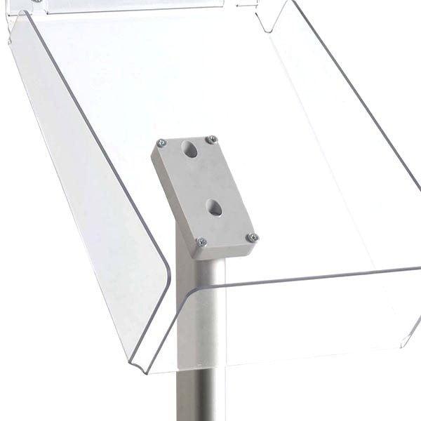 Dekorativer Prospektständer Plus Hochformat DIN A4 Postermaß 3
