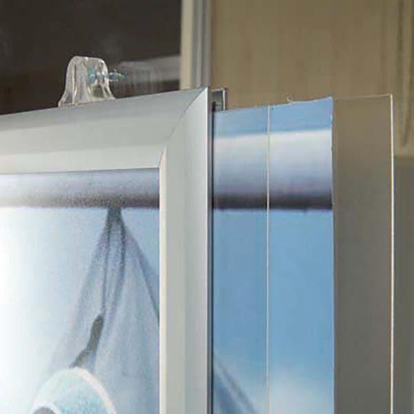 Doppelseitiger Einschubrahmen Hochformat DIN A4 Postermaß 2