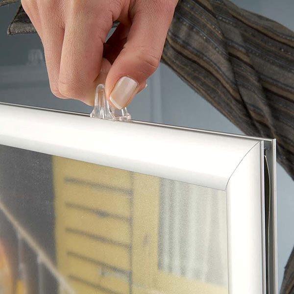 Doppelseitiger Einschubrahmen Querformat DIN A1 Postermaß 3