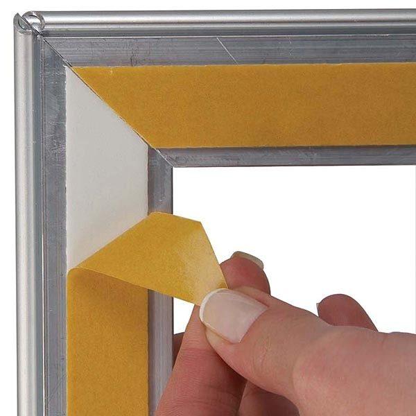 Fenster Klapprahmen 25mm DIN A1 Postermaß 2