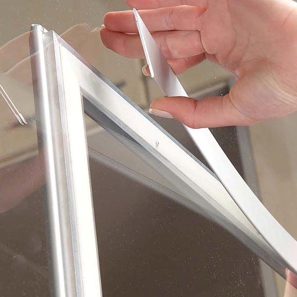Fenster Klapprahmen 25mm DIN A4 Postermaß 3