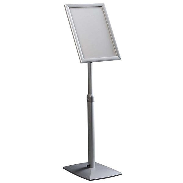 Flexibler LED Infoständer silber DIN A3 Postermaß 2