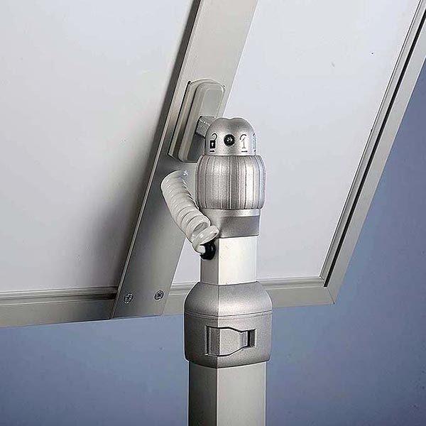 Flexibler LED Infoständer silber DIN A3 Postermaß 7