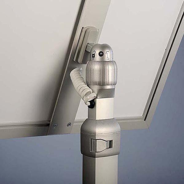 Flexibler LED Infoständer silber DIN A4 Postermaß 7
