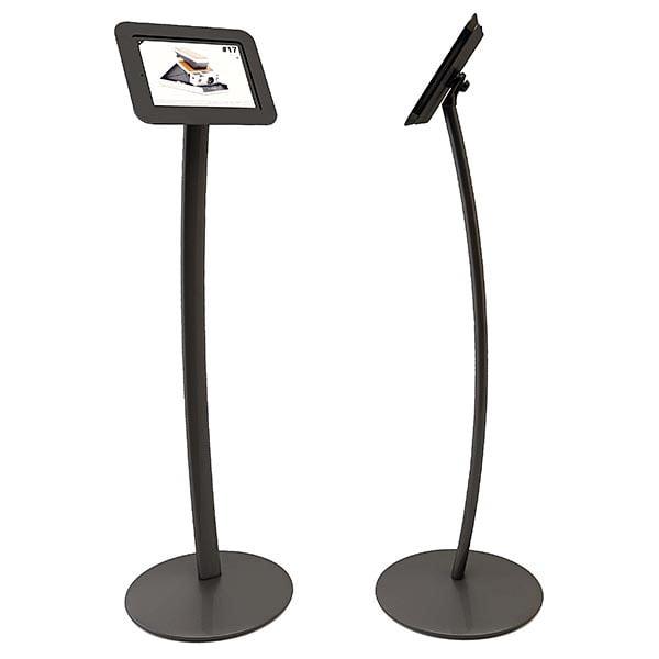 Gewölbter iPad Ständer schwarz für iPad 2 und 3 1