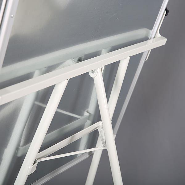 Höhenverstellbares Flipchart Außenformat 600 x 900 mm 8