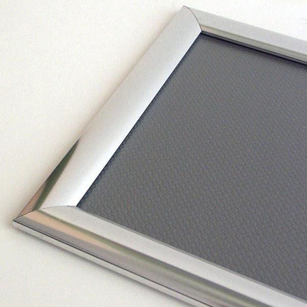 Klapprahmen Edelstahl Optik 25mm DIN A2 Postermaß 1