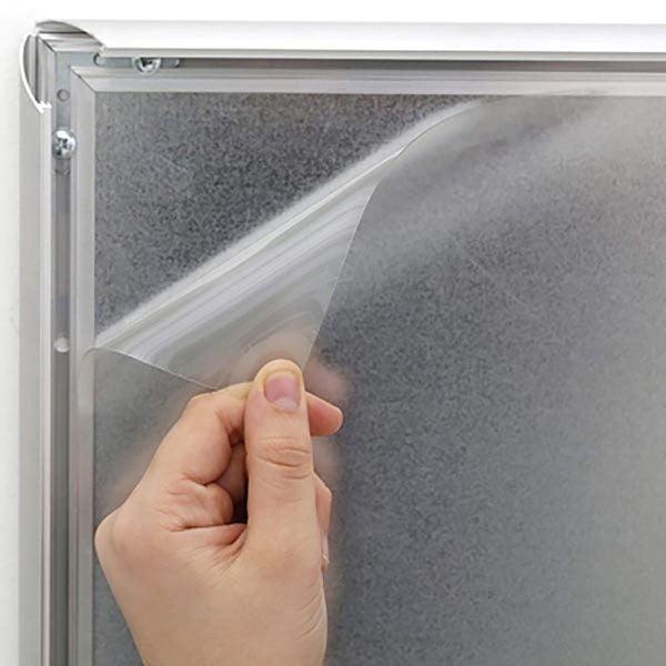 Klapprahmen FireProtection 25mm DIN A2 Postermaß 3