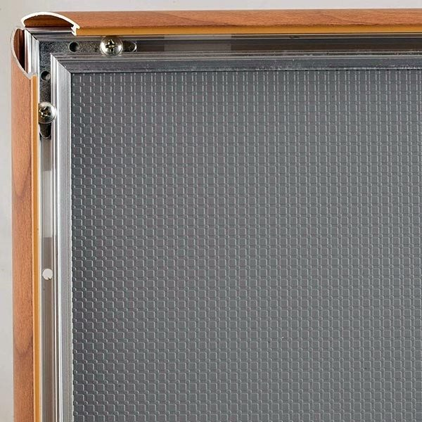 Klapprahmen Holz Optik 25mm DIN A2 Postermaß 1