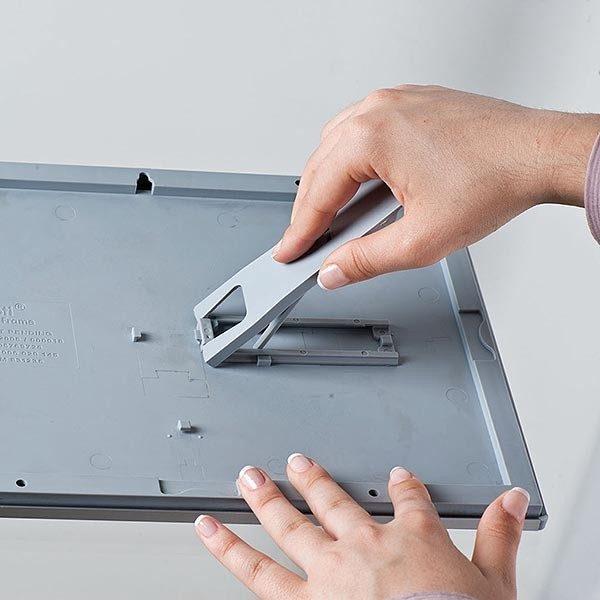 Klapprahmen Opti Frame 14mm DIN A5 Postermaß br mit Rückenstütze 7