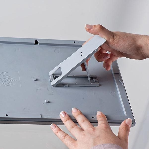 Klapprahmen Opti Frame 14mm DIN A5 Postermaß br mit Rückenstütze 8