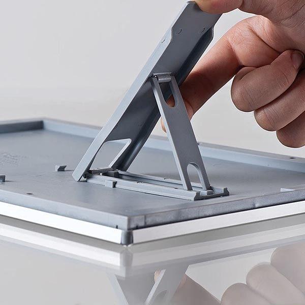 Klapprahmen Opti Frame 14mm DIN A5 Postermaß br mit Rückenstütze 9