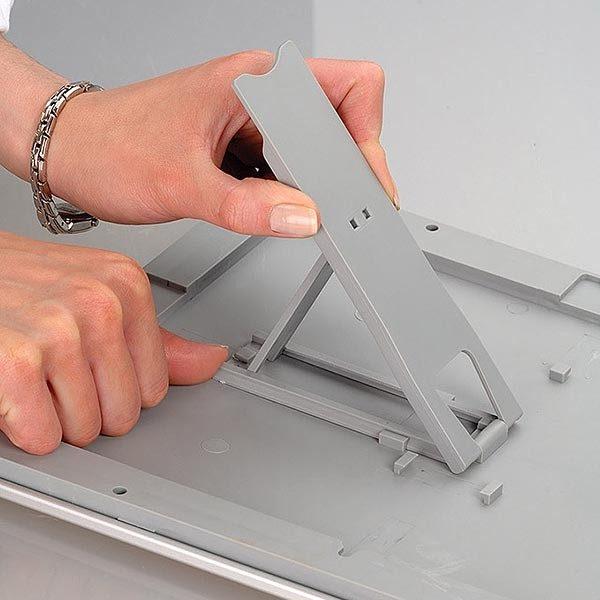 Klapprahmen Opti Frame 25mm DIN A4 Postermaß br mit Rückenstütze 12