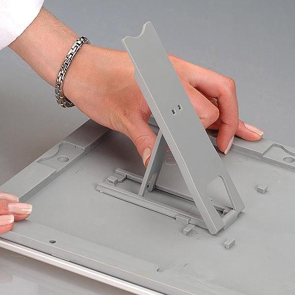 Klapprahmen Opti Frame 25mm DIN A4 Postermaß br mit Rückenstütze 13