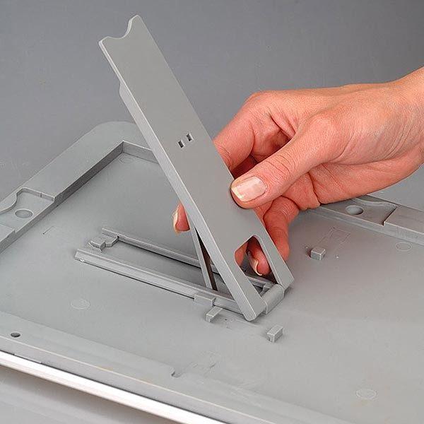 Klapprahmen Opti Frame 25mm DIN A4 Postermaß br mit Rückenstütze 14
