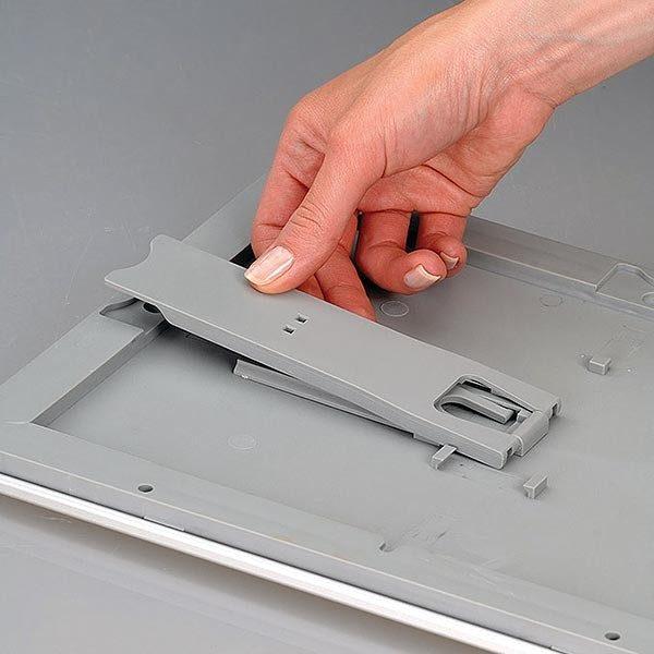 Klapprahmen Opti Frame 25mm DIN A4 Postermaß br mit Rückenstütze 15