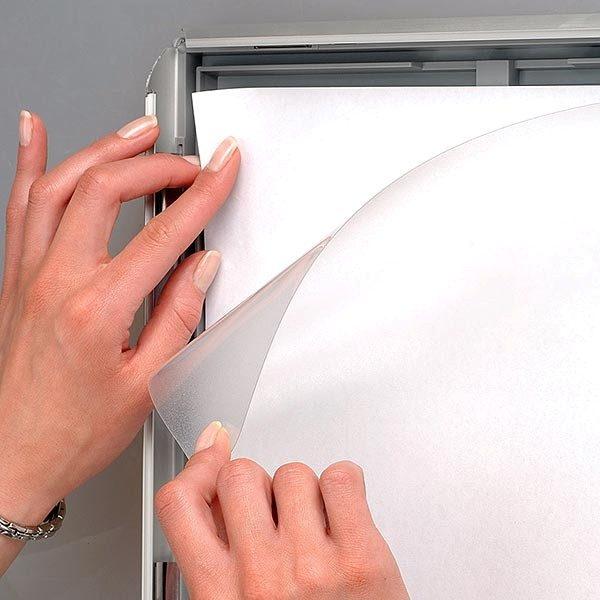 Klapprahmen Opti Frame 25mm DIN A4 Postermaß br mit Rückenstütze 2