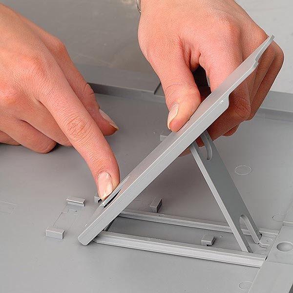 Klapprahmen Opti Frame 25mm DIN A4 Postermaß br mit Rückenstütze 9