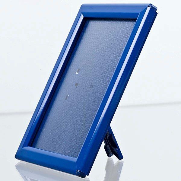 Klapprahmen Opti Frame Blau DIN A4 Postermaß br mit Rückenstütze 2