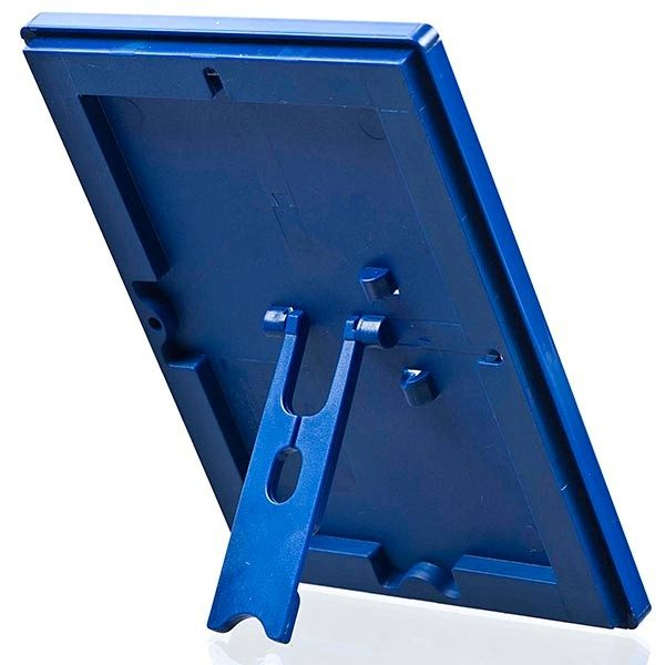 Klapprahmen Opti Frame Blau DIN A4 Postermaß br mit Rückenstütze 3