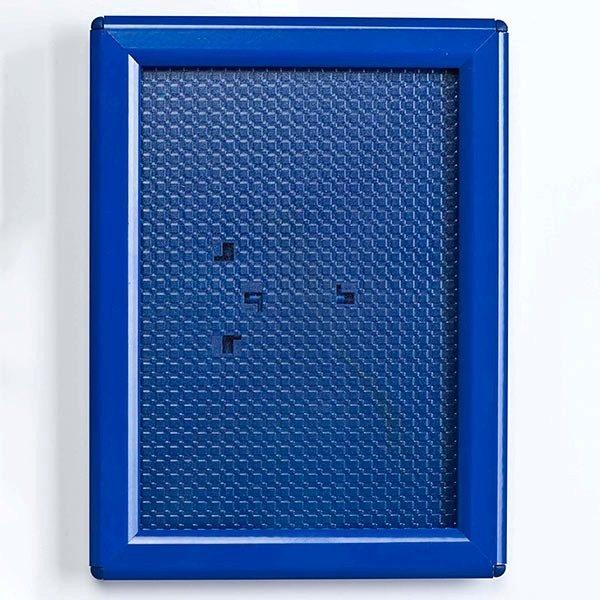 Klapprahmen Opti Frame Blau DIN A5 Postermaß br mit Rückenstütze 1