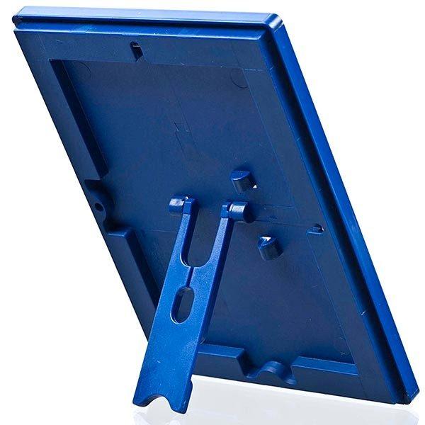 Klapprahmen Opti Frame Blau DIN A5 Postermaß br mit Rückenstütze 3