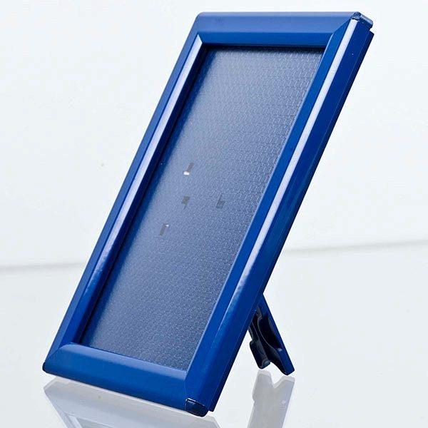 Klapprahmen Opti Frame Blau DIN A6 Postermaß br mit Rückenstütze 2