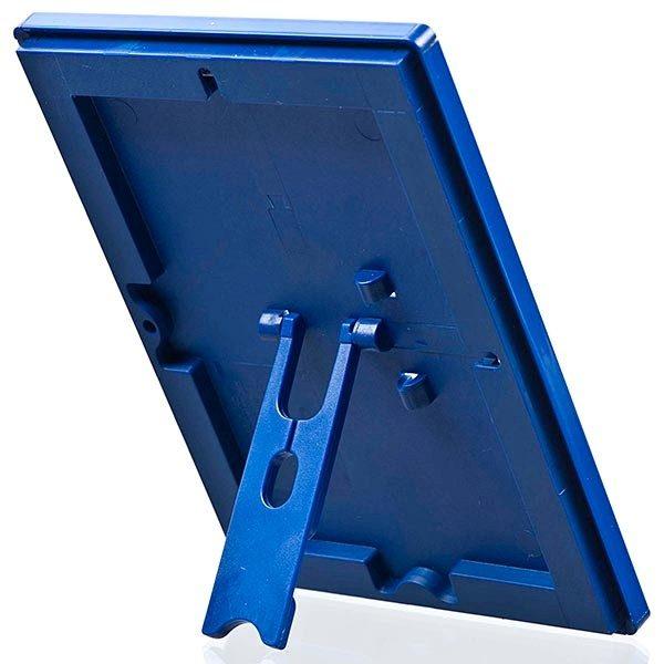 Klapprahmen Opti Frame Blau DIN A6 Postermaß br mit Rückenstütze 3