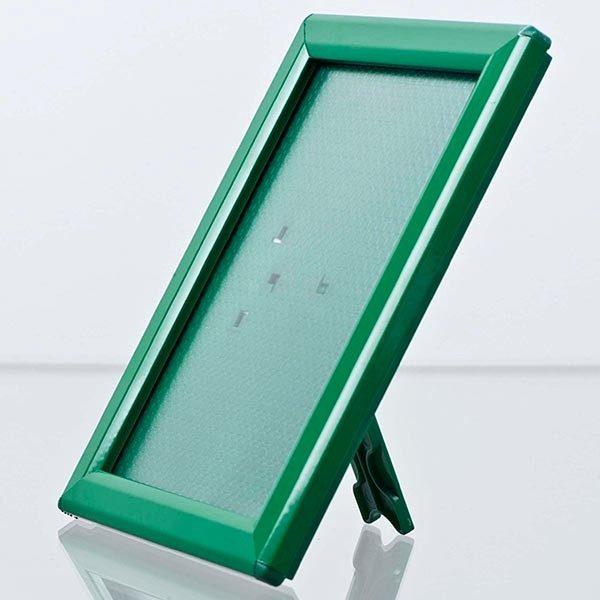 Klapprahmen-Opti-Frame-Grün-DIN-A4-Postermaß-br-mit-Rückenstütze-2