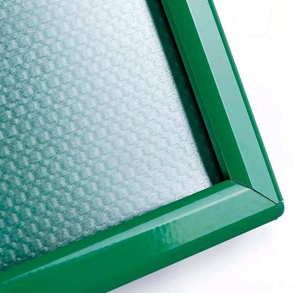 Klapprahmen Opti Frame Grün DIN A4 Postermaß br mit Rückenstütze 5