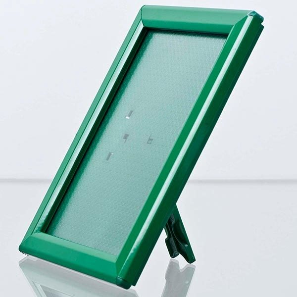 Klapprahmen-Opti-Frame-Grün-DIN-A5-Postermaß-br-mit-Rückenstütze-2