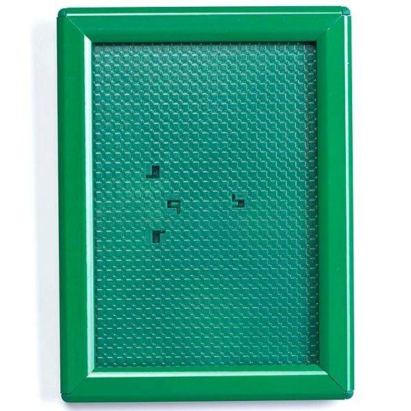 Klapprahmen Opti Frame Grün DIN A6 Postermaß br mit Rückenstütze 1