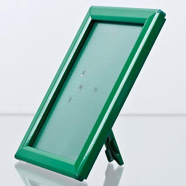 Klapprahmen Opti Frame Grün DIN A6 Postermaß br mit Rückenstütze 2