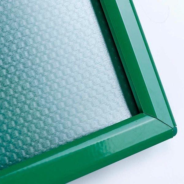 Klapprahmen Opti Frame Grün DIN A6 Postermaß br mit Rückenstütze 5