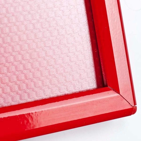 Klapprahmen Opti Frame Rot DIN A4 Postermaß br mit Rückenstütze 10